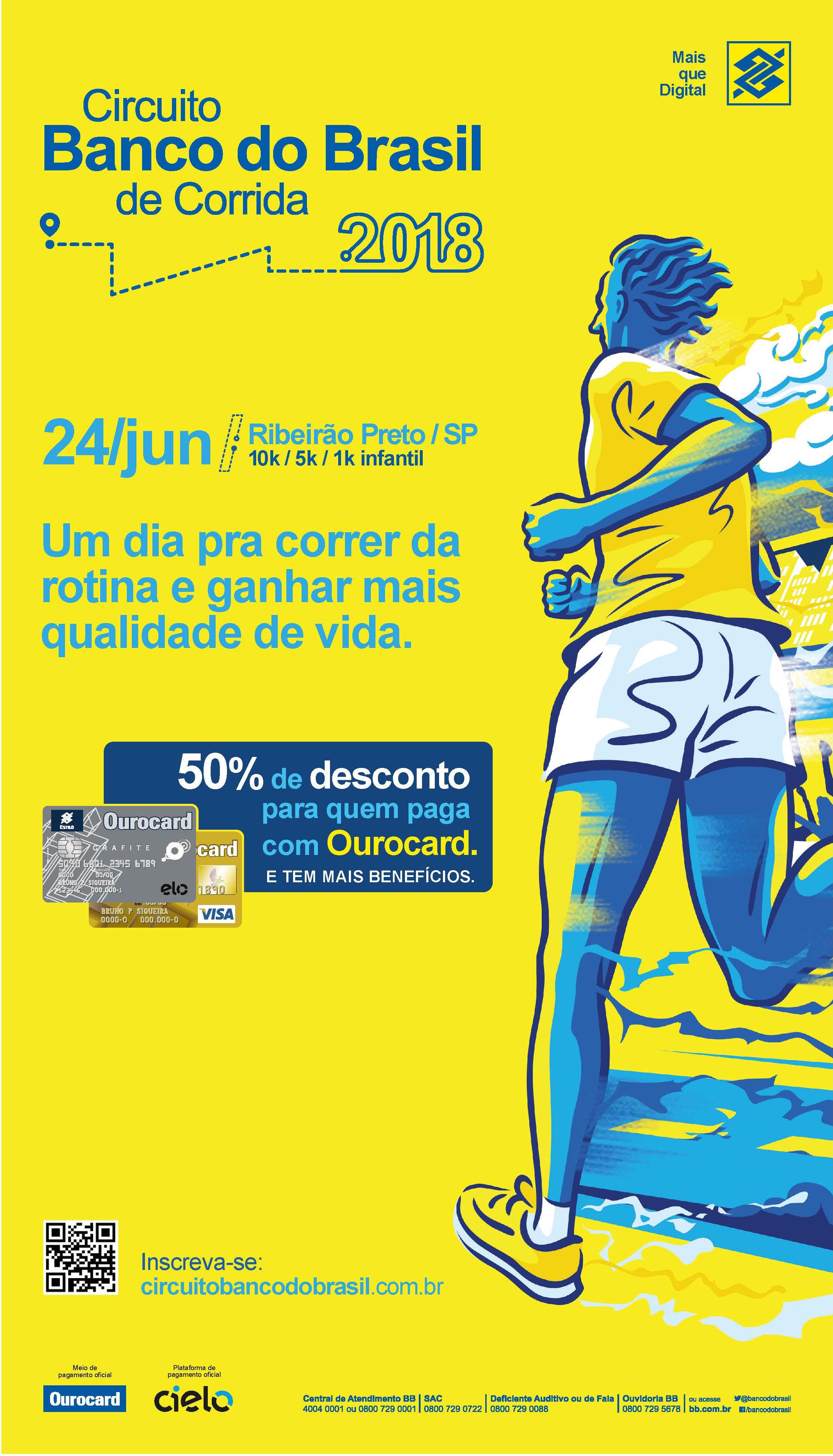 Circuito Banco Do Brasil : Publicidade circuito banco do brasil de corridas jornal