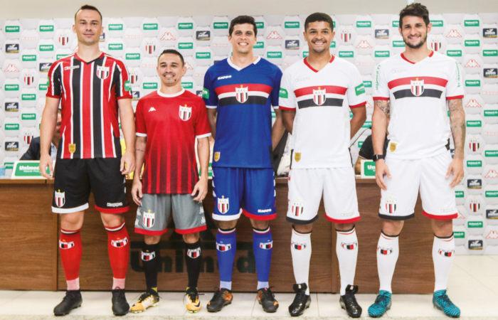 Botafogo apresenta novos uniformes e anuncia novo patrocinador ... f804cbef72019