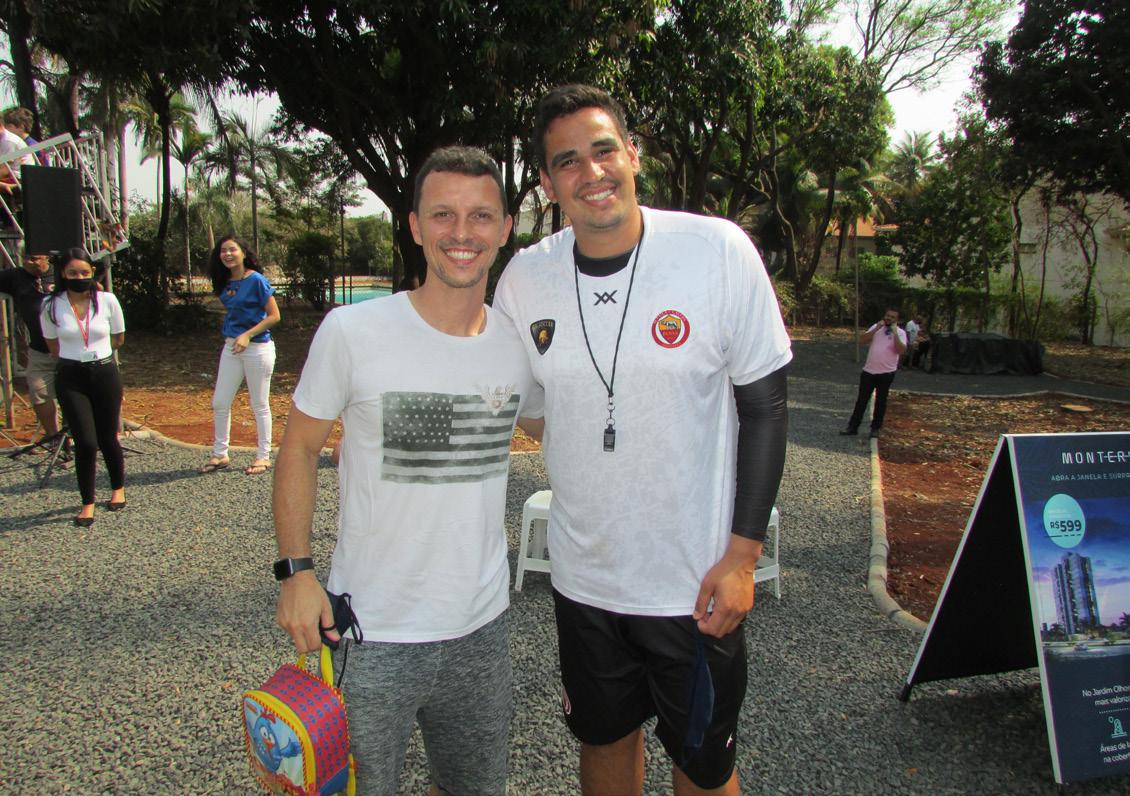 André Segalla e Breno Roberto Oliveira