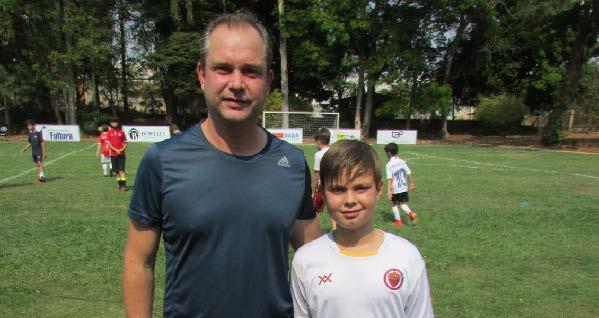 Pai e filho: Luiz Fernando e Guilherme Rossi